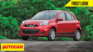 nissan micra bluetooth manual nissan micra x shift first look autocar india youtube