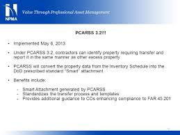 pcarss transfers of accountability ppt video online download