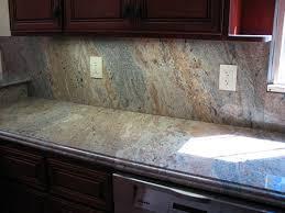 santa cecilia granite backsplash with granite countertops