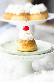 pineapple upside down mini cakes spaceships and laser beams