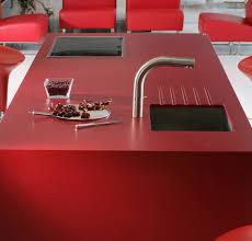 Excepcional Pia Silestone Vermelho Rojo Eros - Inspire-se - Alonso Mármores  @NO42
