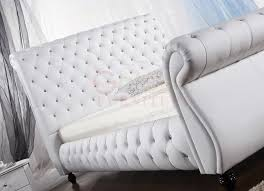 Furniture Online Modern by Furniture Online Queen Size Modern Leather Bed White G954 Buy