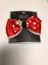 minnie mouse hair bow disney minnie mouse bow hair accessories for ebay
