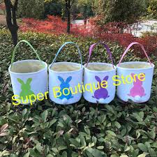 easter buckets wholesale 2018 hot selling new arrival canvas easter buckets wholesale