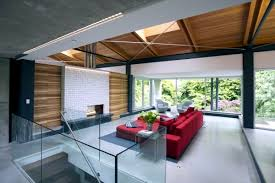Modern House In Country Modern House In Nature House Interior