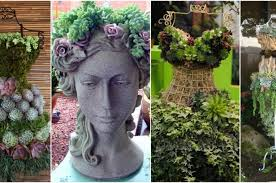 astonishing diy garden planters that ladies will fall in love with