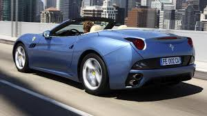 Ferrari California Old - cortina to california cars named after places