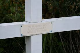 memorial crosses for roadside roadside memorials descansos of south