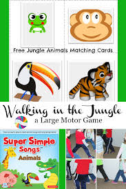 thanksgiving sequencing activities walkin u0027 in the jungle gross motor and sequencing for preschool