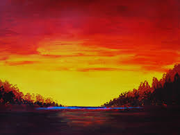 landscape painting ideas on pinterest easy acrylic paintings