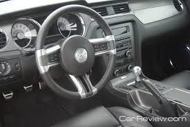 2011 Black Mustang Gt 2011 Ford Mustang Gt Interior Car Reviews And News At Carreview Com
