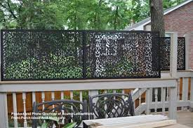 stylish privacy screen ideas for backyard garden decors
