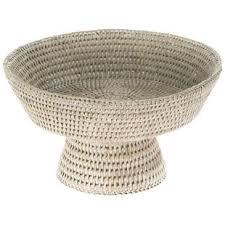 white fruit bowl white pedestal fruit bowl wayfair