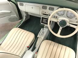 nissan figaro interior how to guides the nissan figaro shop