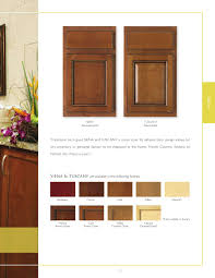 furniture chic wooden kitchen armstrong cabinets in brown with