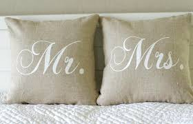 mr and mrs pillows mr and mrs pillows ideas savary homes