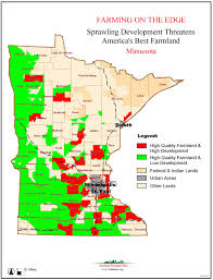 Map Of Wisconsin And Minnesota by Farming On The Edge American Farmland Trust