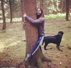 Hippie Woman Meme - jared leto can t stop hugging trees as he posts another snap