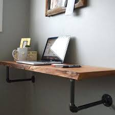 floating computer desk in wall computer desk living room inspirations wall mount laptop desk brown small