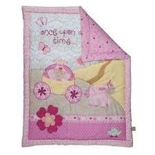 trend lab storybook princess 3 piece crib bedding set
