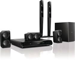 home theater wireless speakers 5 1 home theater htd3540 98 philips