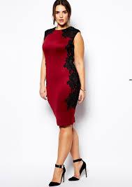 Cheap Clothes For Plus Size Ladies Fashion Design Red Lace Dress Women Plus Size Party Dress