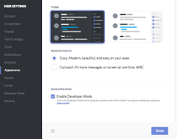 Two Dark Ui - how can i change discord s appearance theme discord