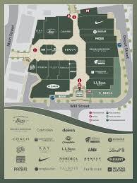 Hanes Mall Map Hours And Directions For Freeport Village Station In Freeport Maine