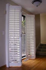 Bypass Shutters For Patio Doors Plantation Shutters For Sliding Door Accordion Plantation