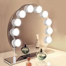 makeup mirror with led lights unifun vanity mirror lights hollywood style usb powered makeup