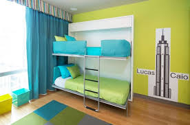 Maximize Small Spaces Murphy Bed Design Ideas - Hideaway bunk beds