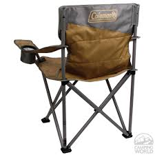 Coleman Reclining Camp Chair Coleman Oversized Quad Chair Coleman 2000023590 Folding Chairs