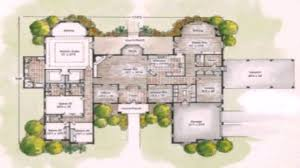 Atrium Ranch Floor Plans by House Plans Kerala Together With U Shaped House Plans With Pool 3d On