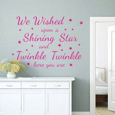 online get cheap shine quotes aliexpress com alibaba group hot we are wished upon a shining star quotes wall stickers bedroom kids room living