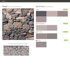 tudor old country fieldstone cultured stone boral stone behr