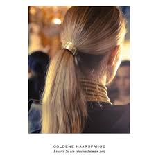 hair cuff balmain gold hair cuff