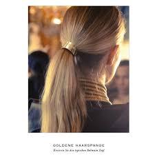 hair cuff balmain gold hair cuff