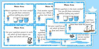 Water Challenge How Does It Work Themed Water Area Challenge Cards