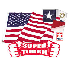 Us Flag Facts 3ft X 5ft Super Tough Brand Polyester American Flag