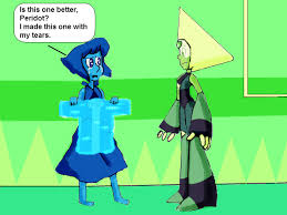 spongebob tear sweater lapis and peridot sponge pizza by toonempire24 on deviantart