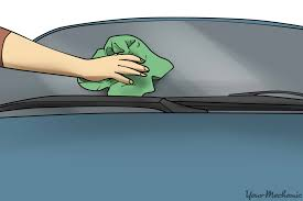 Interior Windshield Cleaning Tool How To Clean Windows On A Car Yourmechanic Advice