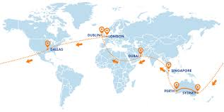 Where Is Punta Cana On The World Map by Round The World Flights Usit Ireland