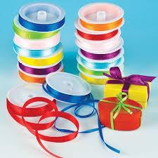 satin ribbon coloured satin ribbon value pack
