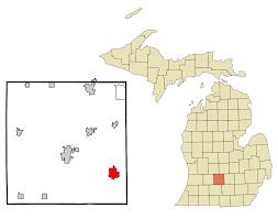 Grand Rapids Zip Code Map by Eaton Rapids Michigan Wikipedia