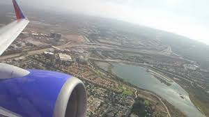 Southwest Airlines Interior Southwest Airlines B737 7h4 Powerful Takeoff From Orange County