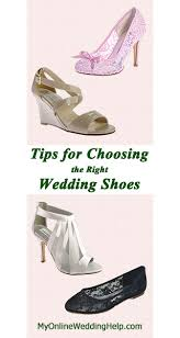 wedding shoes tips tips for choosing wedding shoes my online wedding help budget