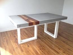 concrete wood table top concrete table wood concrete wood table diy listopenhouses com