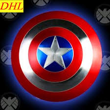 captain america shield light target avengers infinity war civil war captain america shield 1 1 life size