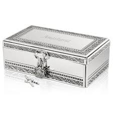 personalized jewelry box jewelry box with lock and key