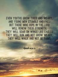 silence bible strength faith